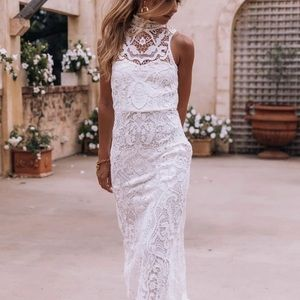 Spell Bride Edie Gown NWT, with dress bag